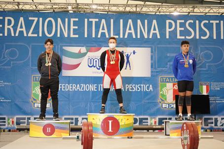 Finale Nazionale di pesistica olimpica a Roma