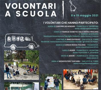 Volontari a Scuola